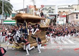 岸和田だんじり祭り 2015年の日程と見どころ
