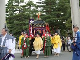 京都北野天満宮ずいき祭り  2016年の日程と見どころ