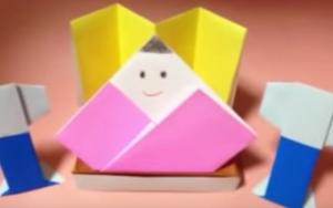 ひな祭り@折り紙で簡単に作れるひな人形おすすめ動画集