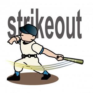 なぜ野球の三振はkなの?その意味と由来を調べてみました