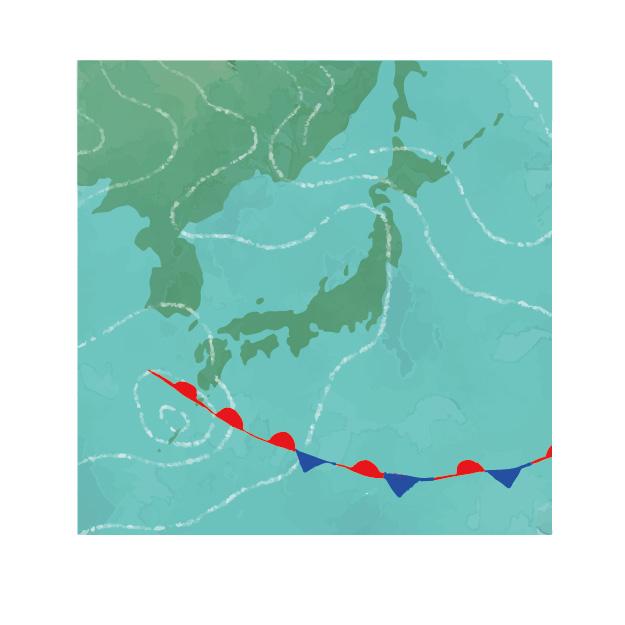 温帯低気圧と熱帯低気圧の違いをわかりやすく解説します