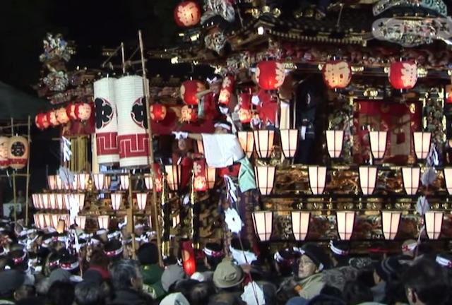 ユネスコの無形文化遺産に登録!秩父夜祭 2016年の日程と見どころ