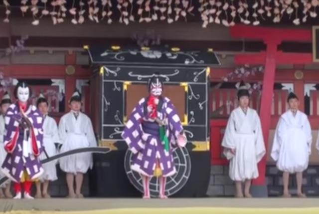 黒森歌舞伎 2017年の日程と見どころ
