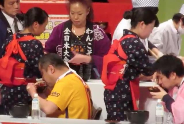 第59回わんこそば全日本大会 2017年の日程と参加ルールは?