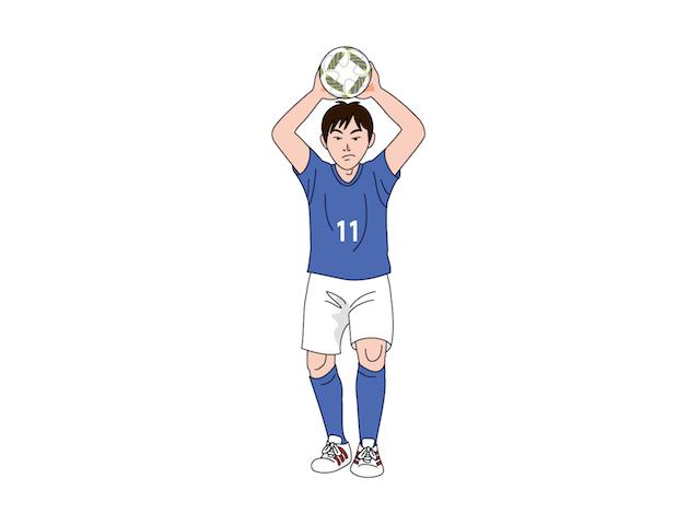 サッカーの「スローイン」が両手投げになったのには深い理由があった!