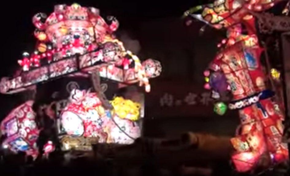 富山県砺波市の夜高祭の2018年の日程と見どころ